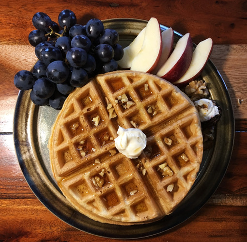 Tasty fresh farm breakfast