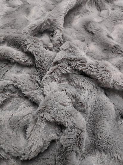 Fausse fourrure grise
