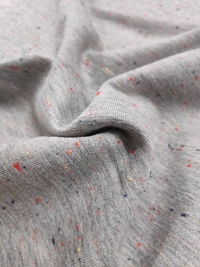 Sweat-Shirt chiné moucheté