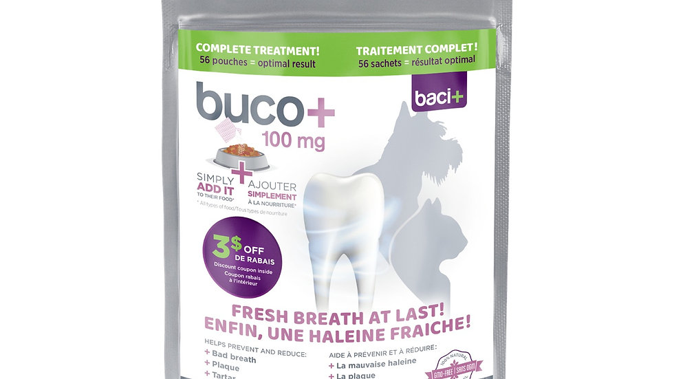 Buco+ Oral Health for Small Dogs and Cats