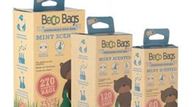 MINT SCENTED DEGRADABLE POOP BAGS