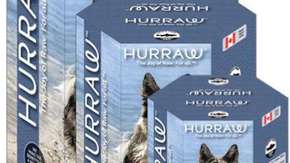 Dehydrated raw food -Hurraw fish