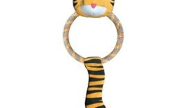 DUAL MATERIAL TIGER SOFT TOY