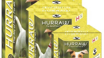 Dehydrated raw food -Hurraw chicken