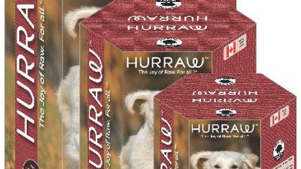 Dehydrated raw food -Hurraw pork