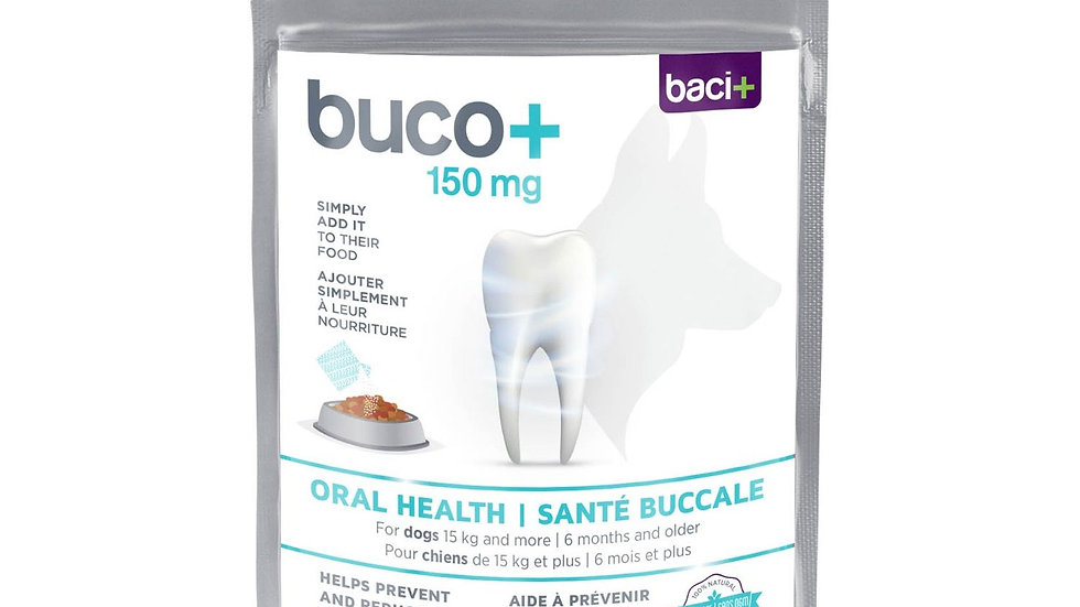 Buco+ Oral Health for dogs, 150mg