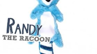 STUFFING FREE RACOON TOY