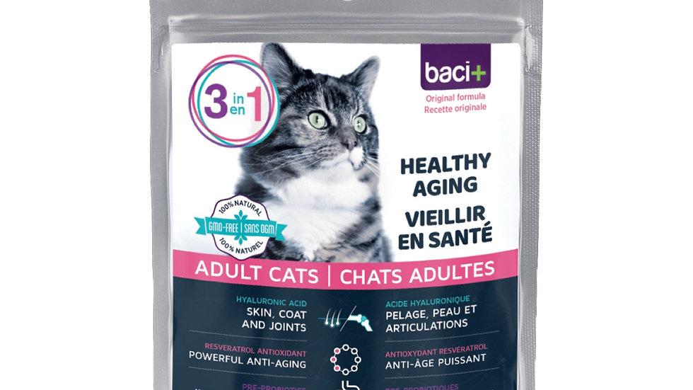 Solution 3 en 1 pour chats de 5 ans et plus, 50g