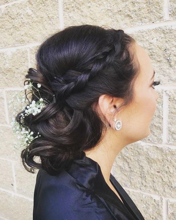 Sleek 🍂 #bridesmaids #glamouraddict #glamsquad #glamup #wedding #weddinghair #lehighvalley #allento