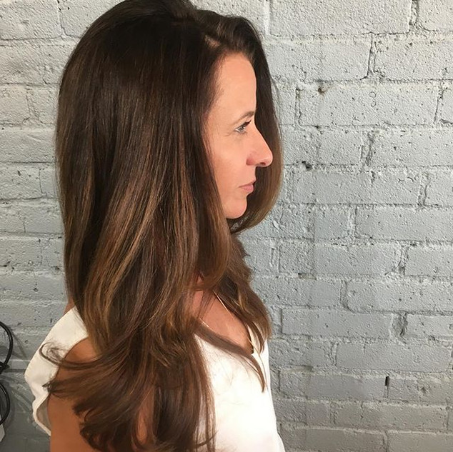 Color, cut and style! #glambygab #glamou