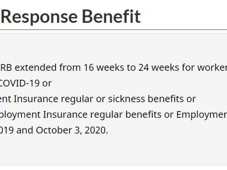 加拿大紧急福利金CERB确认延长,终于不用再焦虑了
