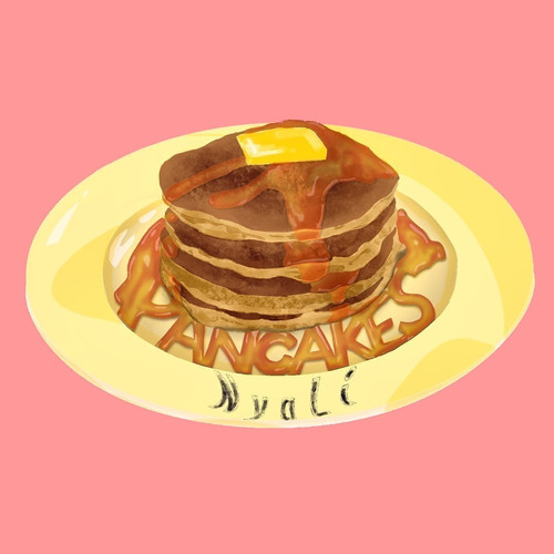Pancakes_single art_Dansen_salmon.jpg