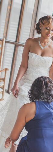 Custom Mermaid Lace Wedding Dress