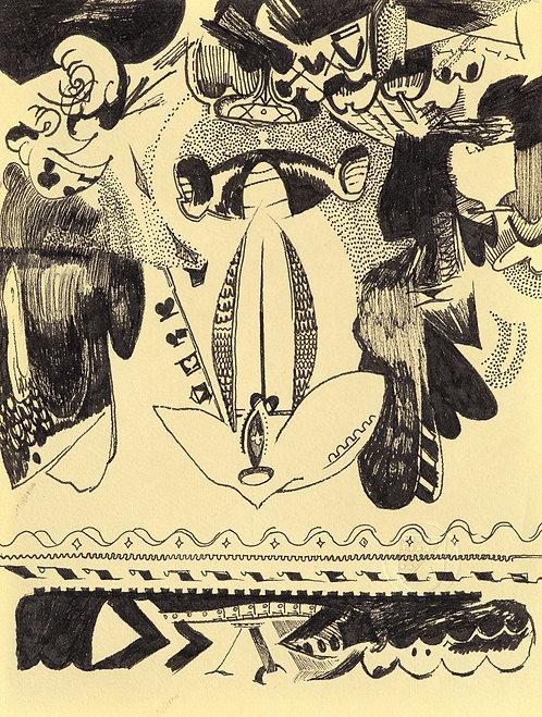 Spades drawing #011