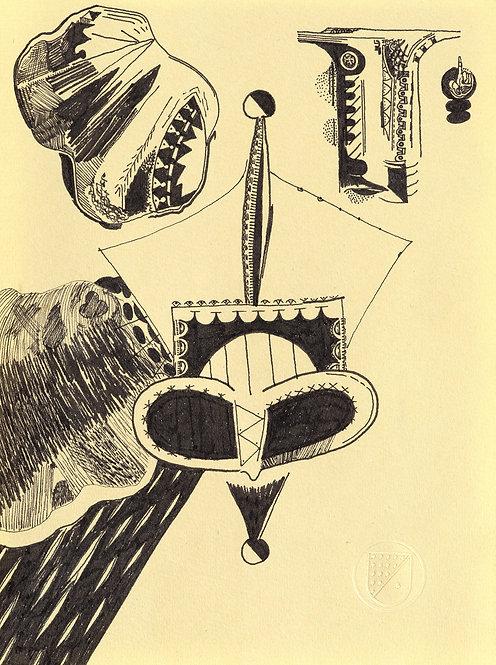 Spades drawing #006