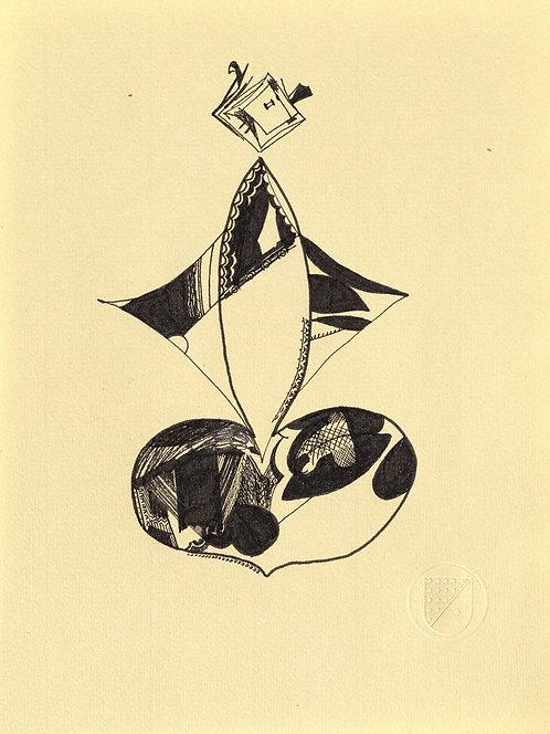 Spades drawing #008