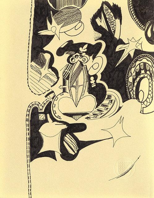 Spades drawing #012
