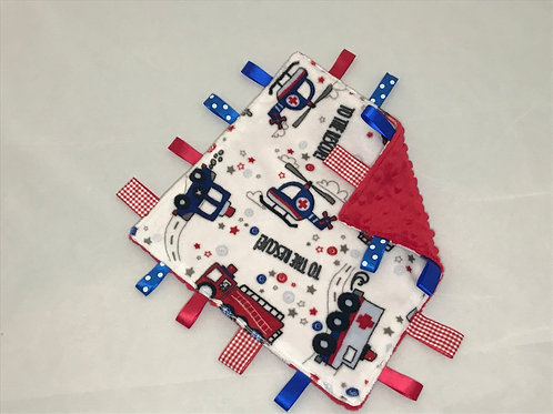 Emergency Vehicles Taggy Comforter