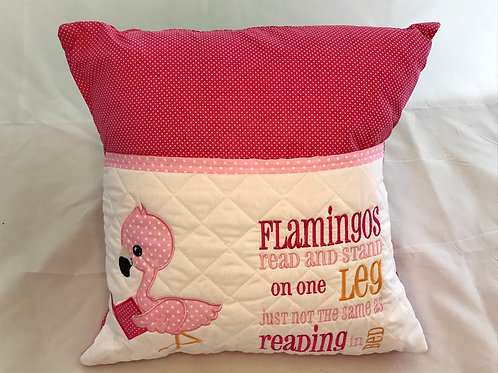 Flamingo Pocket Cushion