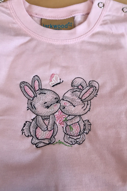 Bunny Best Friends Long Sleeve Tops