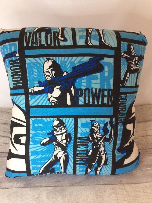 Blue Storm Trooper Cushion