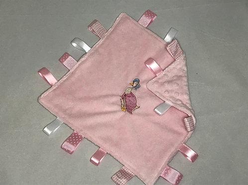 Jemimah  Puddleduck  Taggy Comforter