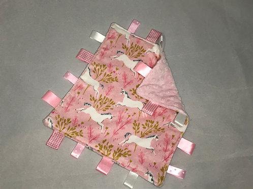 Unicorn Taggy Comforter
