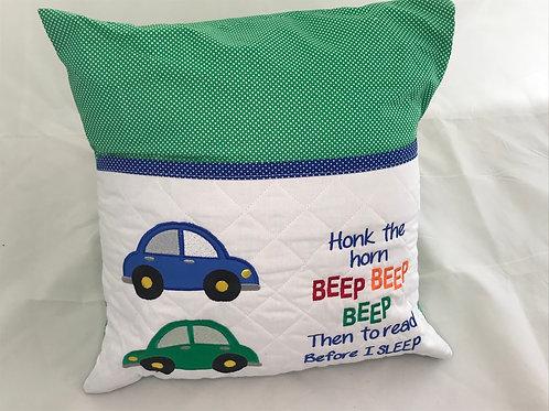 Cars Pocket Cushion