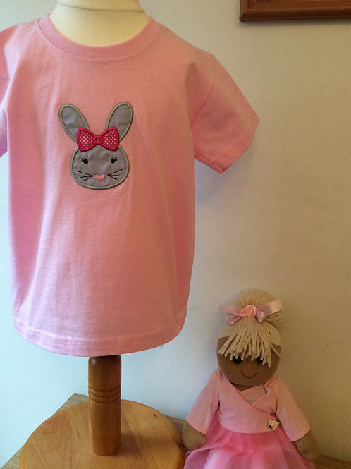 Bunny Applique T-Shirt