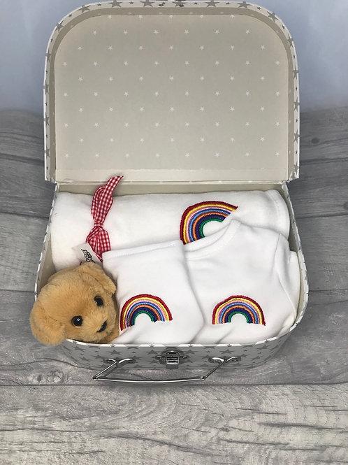 Rainbow Gift Suitcase