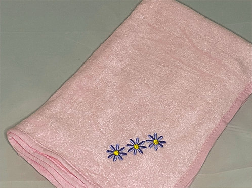 Daisy Fleece Blanket