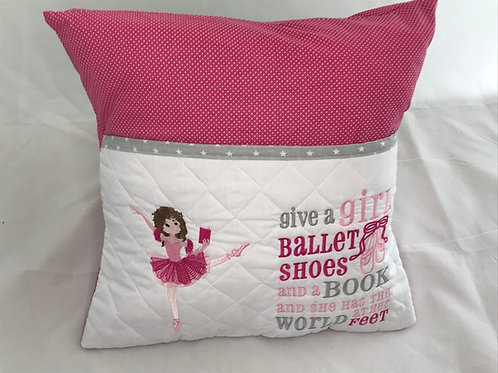 Ballerina Pocket  Cushion