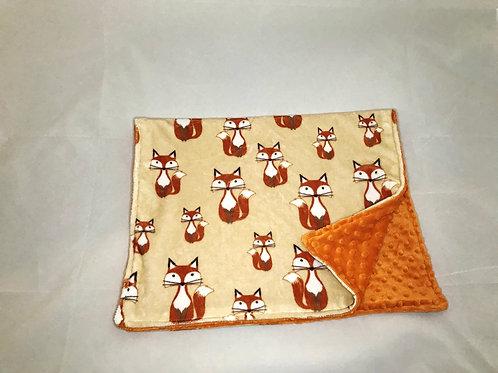 Fox Pram Blanket