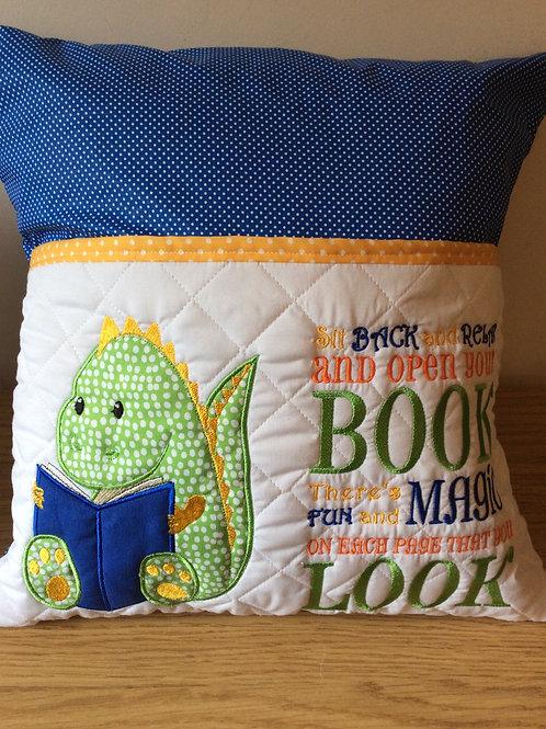 Dinosaur pocket Cushion