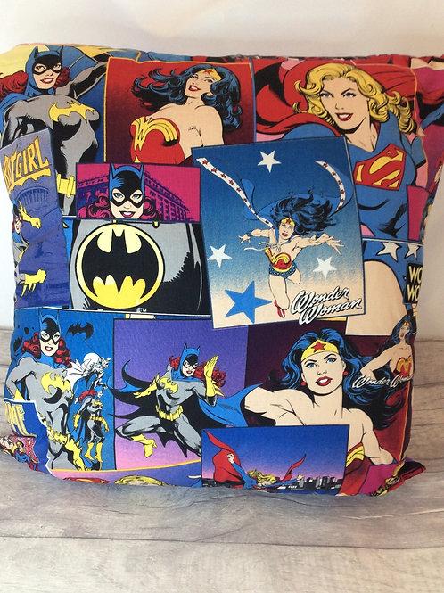 Superhero Girls Cushion