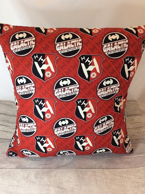 Red Galactic Cushion