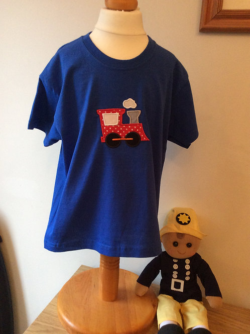 Tractor Applique T-Shirt
