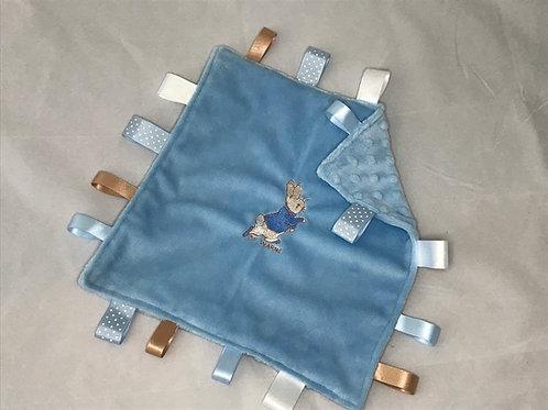 Peter Rabbit (running) Taggy Comforter