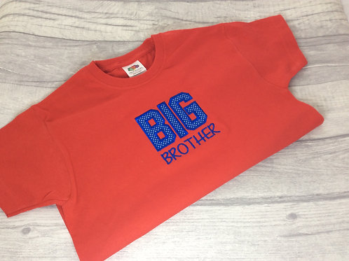 Big Brother T-Shirt Red