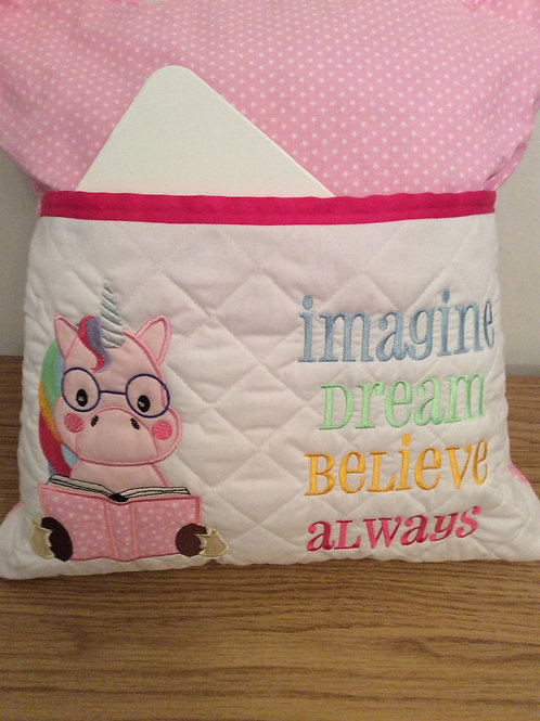 Unicorn Pocket Cushion