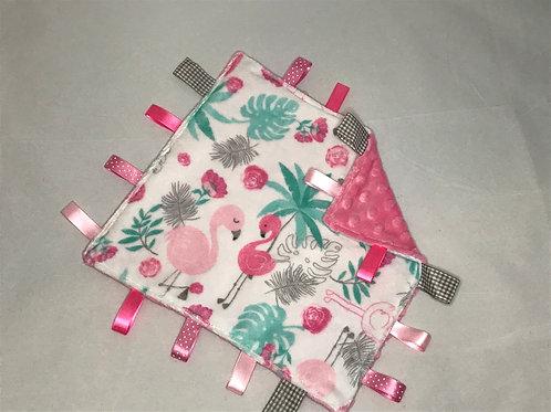 Flamingo Taggy Comforter