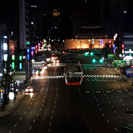 서울로주변 빛의축 세종대로 통일로