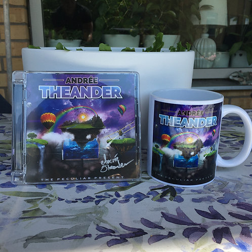 Autographed CD + Mug