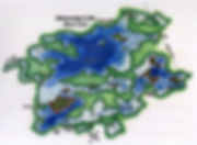 PK Resort Fly In Fishing Canada Map Buck