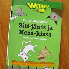 Illustrations for Siti-jänis ja Kesä-kissa book, WSOY General literature, 2009