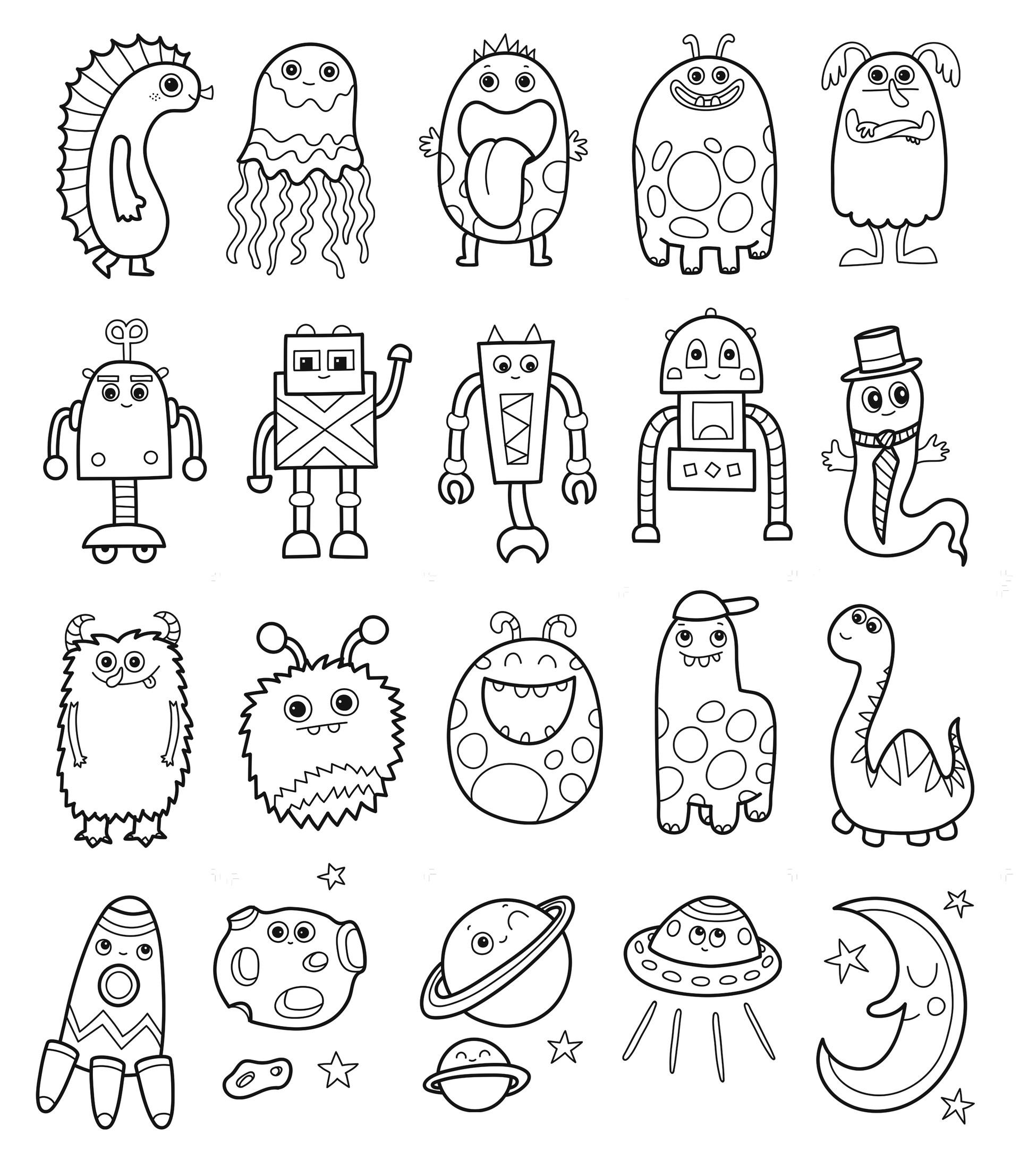 Pikkuotuksen värityskirja & Pikkuperhosen värityskirja coloring books,Tactic Publishing, 2017