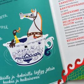 Päivä Linnanmäellä – Helsingin hauskin kaupunginosa! Tammi Publishers, 2015