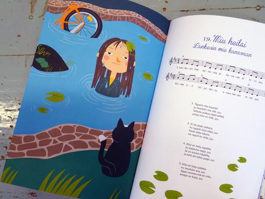 Soiva kansanlaulukirja, Tammi Publishers, 2017