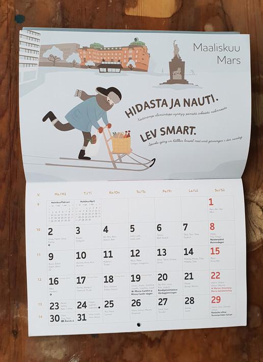Stormossen calendar 2020