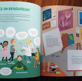 Muumimuseokirja. Opas taiteen ja museoiden maailmaan, WSOY, 2019